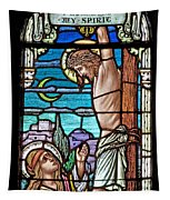 Crucifixion Of Christ Tapestry