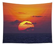 Cruise Sunset Tapestry