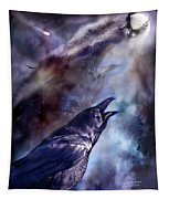 Cry Of The Raven Tapestry