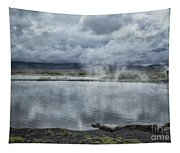 Crystal Crane Hot Springs Tapestry