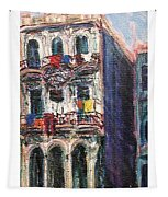Cuba Edificios Tapestry