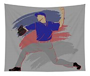 Cubs Shadow Player Tapestry