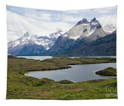 Cuernos Del Paine  Tapestry