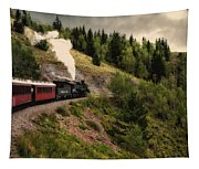 Cumbres And Toltec Train Co And Hm Tapestry