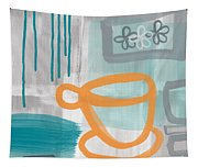 Cup Of Happiness Tapestry