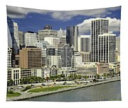 Cupid's Span Waterfront San Francisco Tapestry