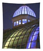 Cupola At Night Tapestry