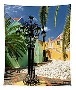 Curacao Colorful Architecture Tapestry