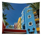 Curacaos Colorful Architecture Tapestry