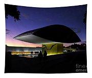 Curitiba - Museu Oscar Niemeyer Tapestry