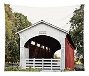 Currin Covered Bridge Tapestry