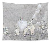 Custers Last Stand Tapestry