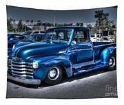 Custom Chevy Pickup Tapestry