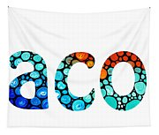 Customized Baby Kids Adults Pets Names - Jacob 2 Name Tapestry