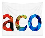 Customized Baby Kids Adults Pets Names - Jacob 5 Name Tapestry