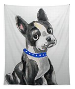 Boston Terrier Wall Art Tapestry