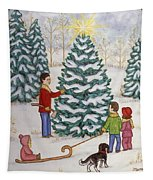 Cutting Our Tree Tapestry