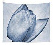 Cyanotype Tulip Tapestry