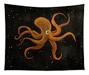 Cycloptopus Black Tapestry