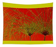 Cyperus Papyrus Abstract Tapestry