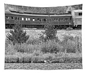 Cyrus K  Holliday Private Rail Car Bw Tapestry