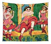 Czardas Dancers, 1908-20 Tapestry