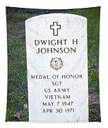 D. H. Johnson - Medal Of Honor Tapestry