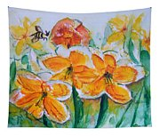 Daffies Tapestry