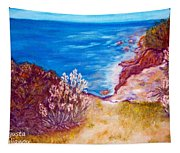 Daffodils At The Beach Tapestry