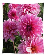 Dahlia Named Lucky Number Tapestry