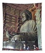Daibutsu Buddha Of Todai-ji Temple Tapestry