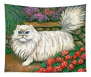 Dainty The Cat Tapestry