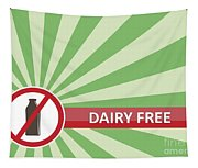Dairy Free Banner Tapestry