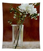 Daisy Mum On Red 2 Tapestry