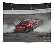 Dale Earnhardt Junior Victory Burnout Tapestry