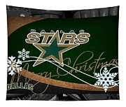 Dallas Stars Christmas Tapestry