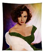 Dame Elizabeth Rosemond 'liz' Taylor - Featured In 'comfortable Art' Group Tapestry