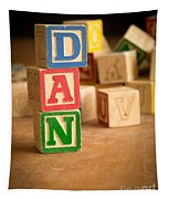 Dan - Alphabet Blocks Tapestry