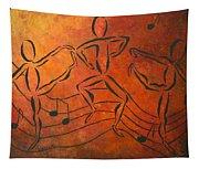 Dance Fever Tapestry
