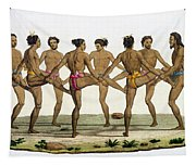 Dance Of The Caroline Islanders, Plate Tapestry