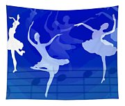 Dance The Blues Away Tapestry