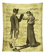 Dance The Minuet With Me Tapestry