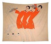 Dancing Song Tapestry