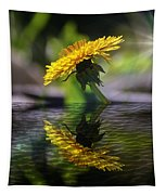 Dandelion Reflection Tapestry