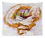 Danish Pastry Ring With Pecan Filling Tapestry