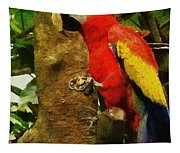 Danse Macaw Tapestry