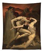 Dante And Virgil Tapestry