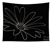Dark Flower Tapestry
