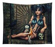Dark Girl Tapestry