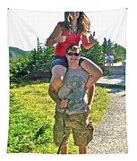 Couple From Saskatchewan On Skyline Trail In Cape Breton Highlands National Park-nova Scotia-canada  Tapestry